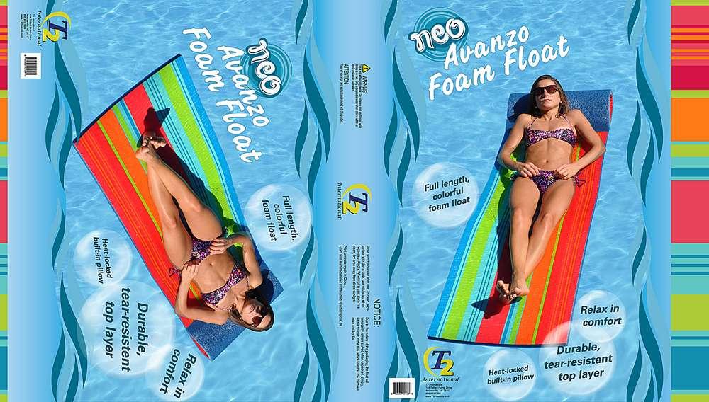 2013 Summer Pool Float Package Wrap