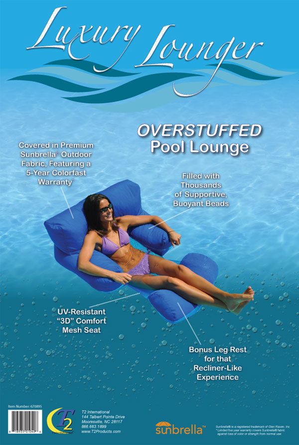 2013 Bead Filled Lounger Package (Back)