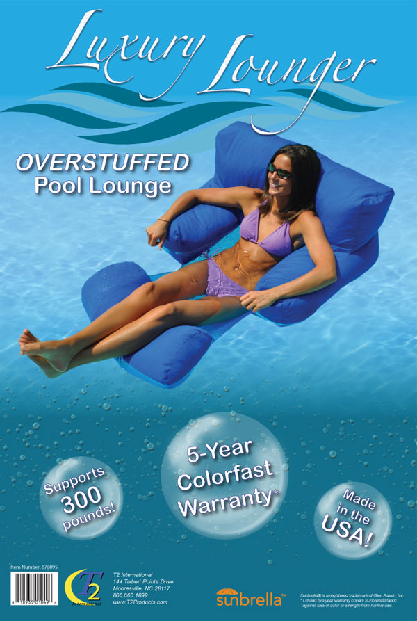 2013 Bead Filled Lounger Package (Front)