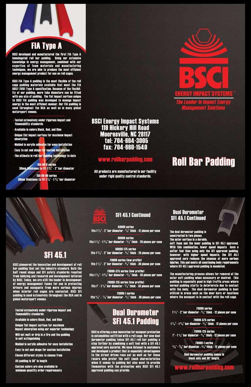 NASCAR Supplier Bi-Fold Brochure