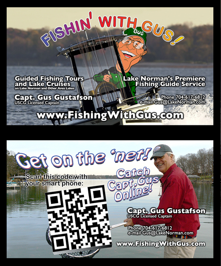 Business Cards for Local Fishing Guide