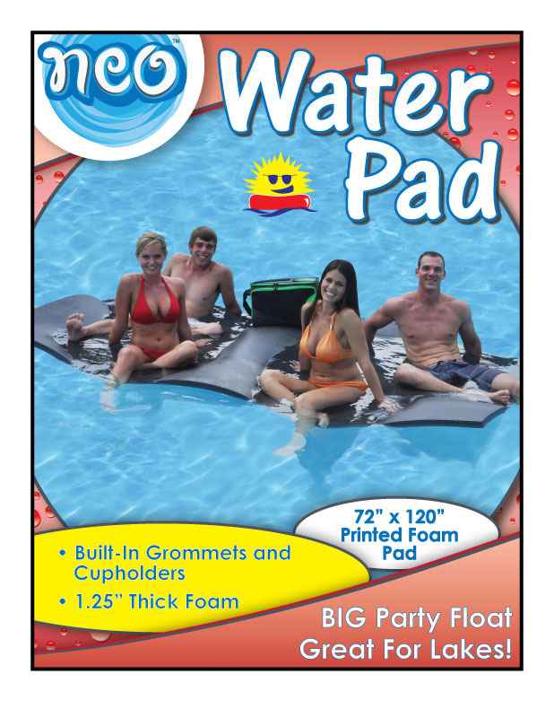 Sell Sheet/Handout Flyer for Pool Product