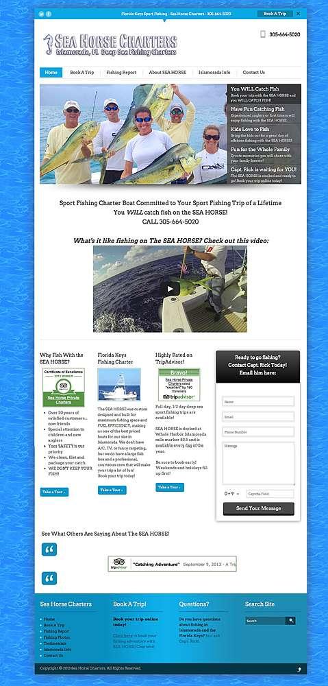 2013 Florida Keys Fishing Guide Site