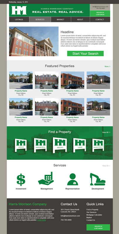 Commercial Realty - Homepage