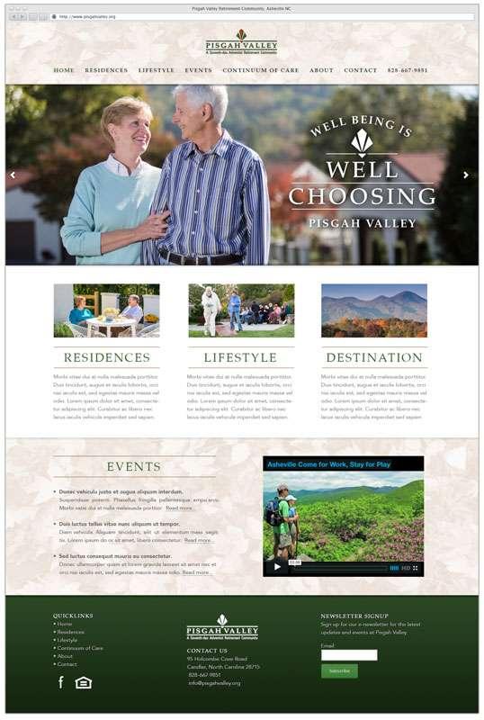 Retirement Community - Homepage